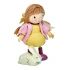 בובת עץ - איימי והארנב שלה tender leaf toys