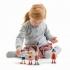 סט 4 בובות מעץ  גמישות tender leaf toys