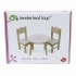 Sweetiepie Table and Chairs tender leaf toys