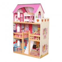 בית בובות  גדול 3  קומות מעץ