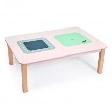 שולחן עץ  גדול לילדים כולל תא אחסון טנדר לייף