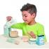 סט מיקסר ואפיה ביתי מעץ מלא 27 חלקים tender leaf toys