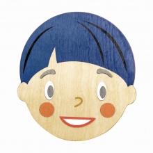 משחק עיצוב פרצופים מגנטי מעץ 32 חלקים טיינד לייף