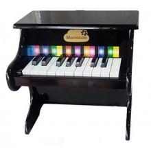 פסנתר מעץ לילדים שחור
