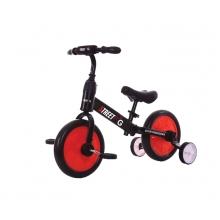 אופני איזון 2 ב 1 אדום