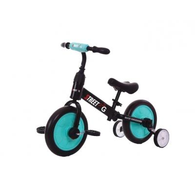 אופני איזון 2 ב 1 טורקיז