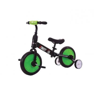 אופני איזון 2 ב 1 ירוק