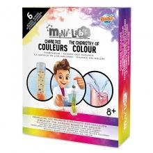 ערכת מעבדה הכימיה של הצבעים מבית Buki צרפת
