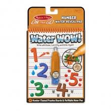 חוברת טוש מים מספרים מליסה ודאג