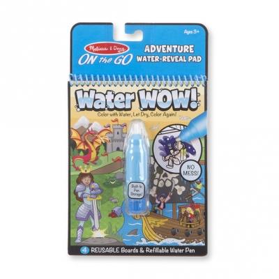 חוברת טוש מים הרפתקאות מליסה ודאג