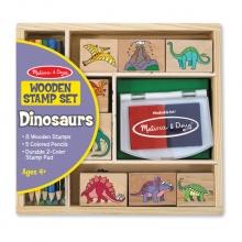 סט חותמות דינוזאורים מליסה ודאג