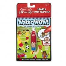 חוברת טוש מים ספורט מליסה ודאג