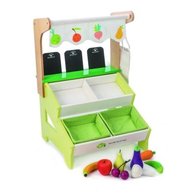 דוכן שוק איכרים מאובזר צעצוע מבית  טנדר ליף Tender Leaf Toys
