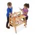 שולחן נגרים מעץ לילדים מליסה ודאג