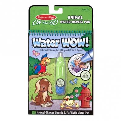 חוברת טוש מים חיות מליסה ודאג