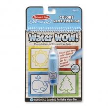 חוברת טוש מים צורות וצבעים מליסה ודאג