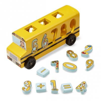 אוטובוס התאמת מספרים מבית מליסה ודאג