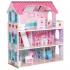 בית בובות לילדים - 3 קומות כולל 8 רהיטים