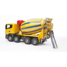 משאית סקינה מערבל בטון - bruder