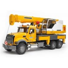 משאית מנוף הרמה ענקית - bruder