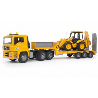 משאית גורר וטרקטור כפול-bruder