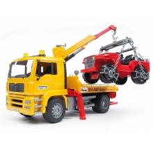 משאית גורר וגיפ - bruder