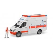 אמבולנס רכב ספרינטר נהג אביזרים  - bruder
