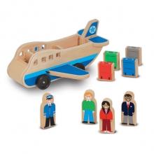 מטוס מעץ מבית מליסה ודאג
