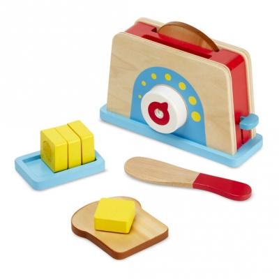 ערכת טוסט מעץ בתוספת חמאה ותפריט מבית מליסה ודאג