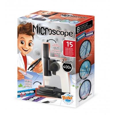ערכת מדע בנושא מיקרוסקופ - 15 ניסויים מבית בוקי צרפת