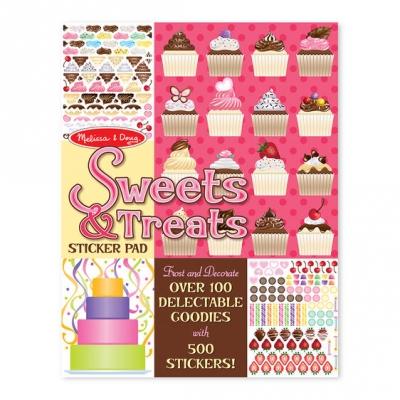 חוברת מדבקות ממתקים ופינוקים מליסה ודאג
