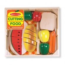 ערכת חיתוך מזון מעץ מליסה ודאג