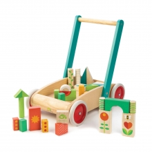 עגלה עם קוביות משחק מבית טנדר ליף
