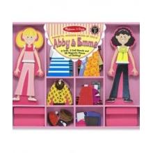 מבית מליסה ודאגabby & emma  משחק הלבשה מגנטי