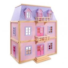 בית בובות רב קומות מעץ מבית מליסה וד�ג