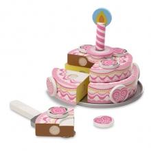 עוגה חגיגית 3 שכבות מעץ מליסה ודאג