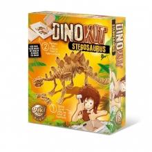 ערכת ארכיאולוגיה לחפירת שלד דינוזאור סטגוזאורוס - בוקי צרפת