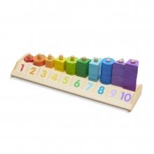 לומדים צורות צבעים ומספרים - מליסה ודאג