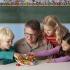 לימוד שעון מספרים ומיון צורות-מליסה ודאג