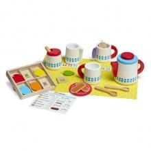 סט כלי תה  22 חלקים מעץ לילדים מליסה ודאג