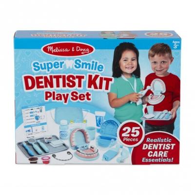 ערכת משחק רופא שיניים לילדים מבית מליסה ודאג