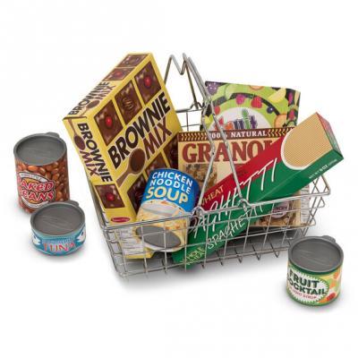 סט סל קניות כולל מצרכים מליסה ודאג