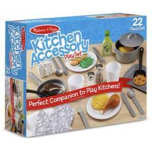סט כלי מטבח לילדים 22 חלקים  מליסה ודאג