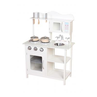 מטבח עץ לילדים לבן