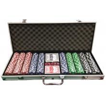 מזוודות פוקר טקסס הולדם מהודרת 500 ז'יטונים
